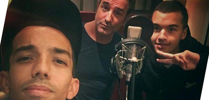 Dujardin rapperait-il avec Bigflo & Oli pour Brice 3 ?