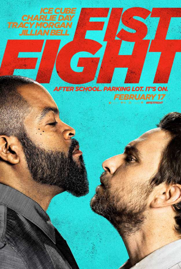 Fist Fight : Ice Cube vs Charlie Day dans le trailer et le poster !