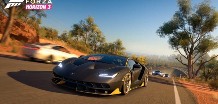 Forza Horizon 3 se lance dans la course sur Xbox One et PC