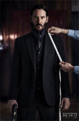 John Wick 2 : Keanu Reeves tiré à quatre épingles sur un poster