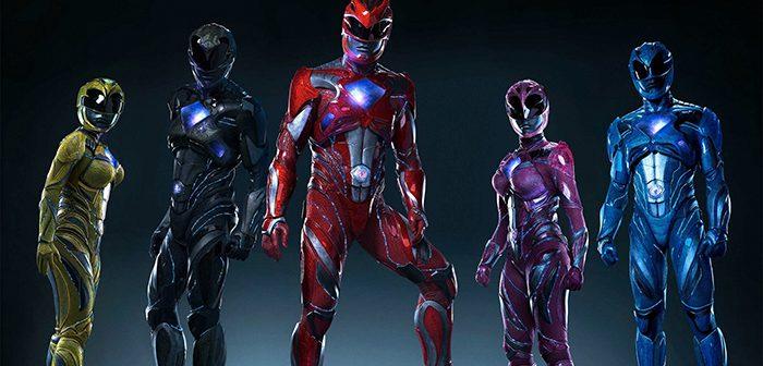 Les nouveaux Power Rangers s'affichent en costume !