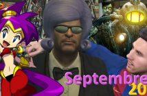 Jeux vidéo : quoi de beau en septembre 2016 ?