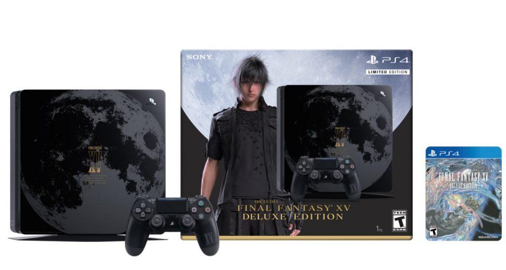 La PS4 Slim Final Fantasy XV exclusive à une enseigne de jeux vidéo !