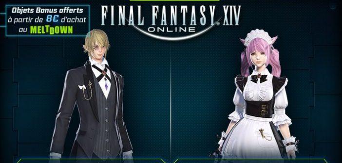 Final Fantasy XIV présent gratuitement dans les bars Meltdown
