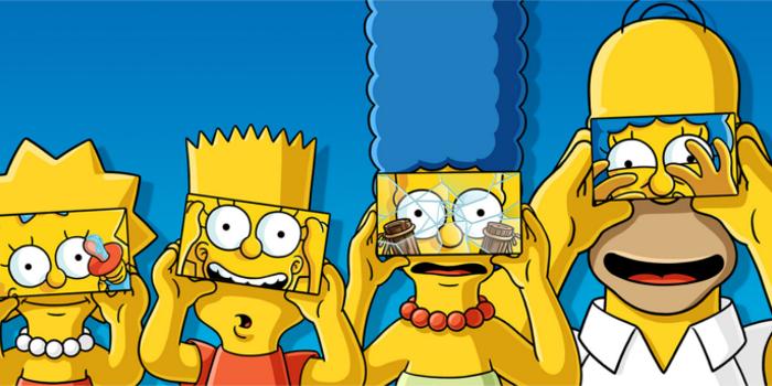 Les Simpson : un « couch gag » en réalité virtuelle !