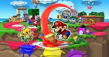 [Test] Paper Mario : Color Splash, le plombier reprend des couleurs !