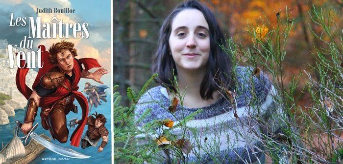 """Judith Bouilloc, auteure des Maîtres du Vent : """"les films d'Hayao Miyazaki m'ont inspiré"""""""