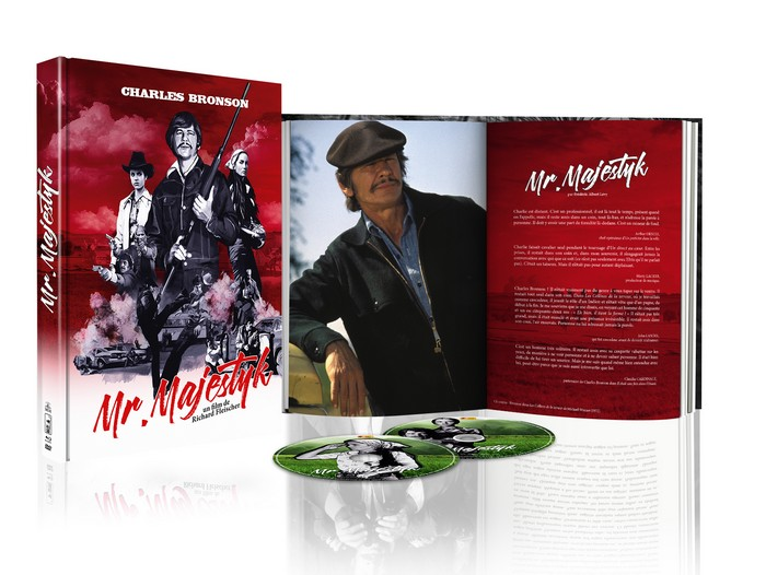 [Concours] Mr. Majestyk : 1 édition Blu-ray + DVD + Livret à gagner !