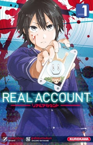 [Critique] Real Account tome 1 : tweeter tue !