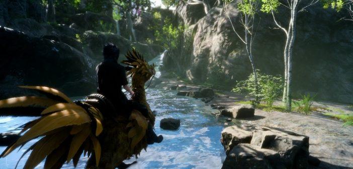 Final Fantasy XV : comparaison PS4 / PS4 Pro en vidéo !