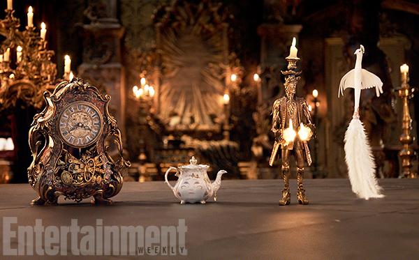 La Belle et la Bête : une nouvelle image en couverture d'EW