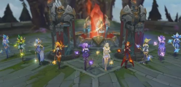 League of Legends : 10 skins en 1 avec Elementalist Lux !