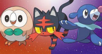 Pokémon Soleil / Lune : quel est le meilleur starter à prendre ?