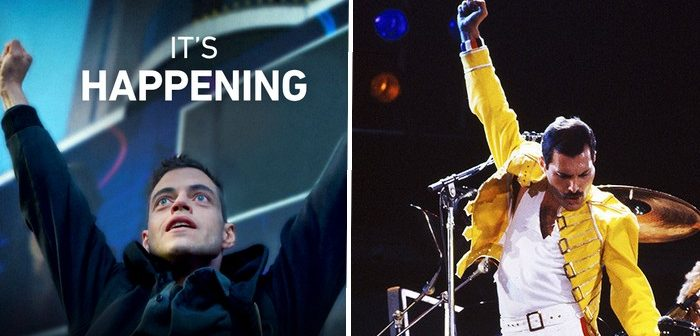 Rami Malek dans la peau de Freddie Mercury pour Bryan Singer