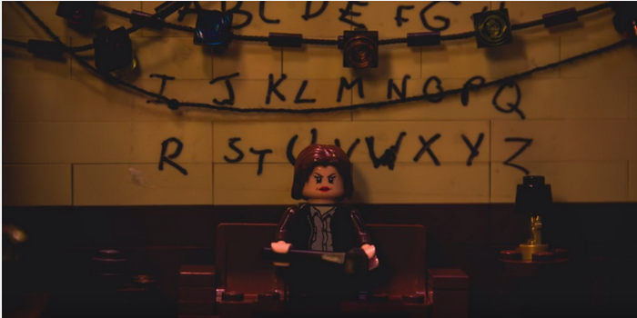 Stranger Things a maintenant droit à sa version Lego