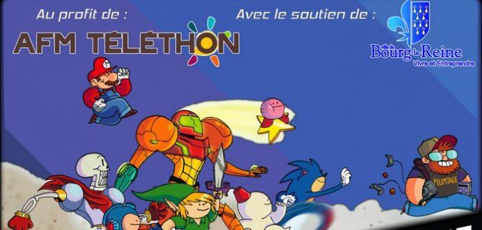 Bourg la Run : le marathon de speedrun au profit du Téléthon !