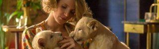 La Femme du Gardien de Zoo présente des images avec Jessica Chastain