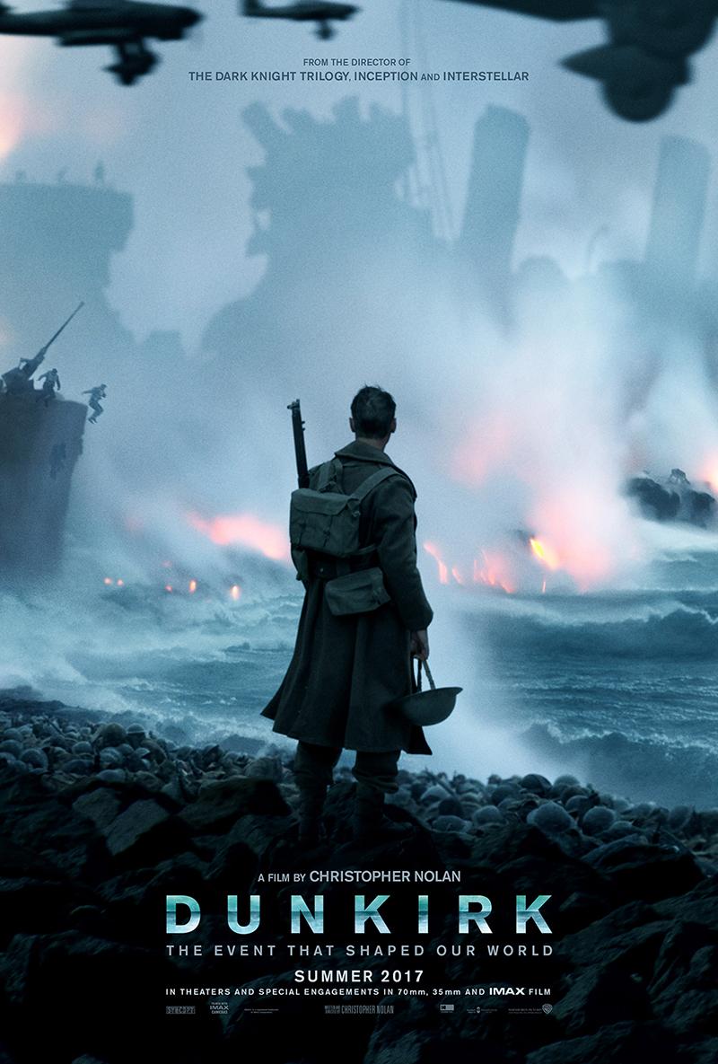 Dunkerque : le nouveau Nolan se dévoile avec un trailer et un poster !