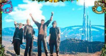 Final Fantasy XV : les fêtes de fin d'année à l'honneur en DLC gratuit !