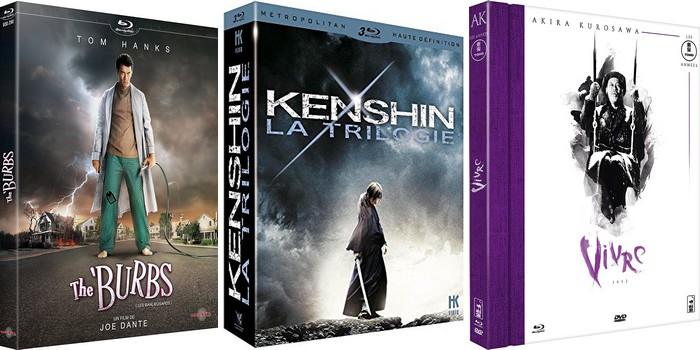 Les DVD / Blu-ray de 2016 qu'il faut avoir sous le sapin pour Noël !