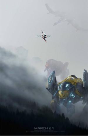 Power Rangers : les Zords se dévoilent dans un nouveau poster