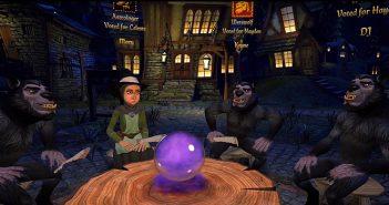 Werewolves Within est un titre VR orienté multijoueurs en ligne et reprend en grande partie les règles du célèbre jeu de société, Les loups garous de Thiercelieux.