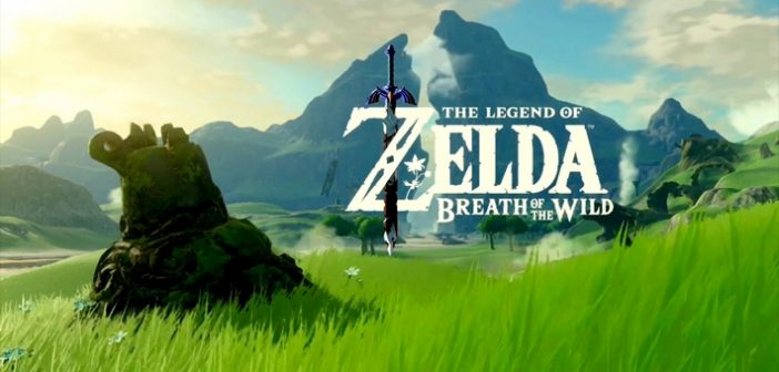 Une photo du guide officiel de The Legend of Zelda Breath of the wild