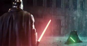 Zack Snyder a réalisé un mashup intitulé Dark Side Knight v Super Jedi !