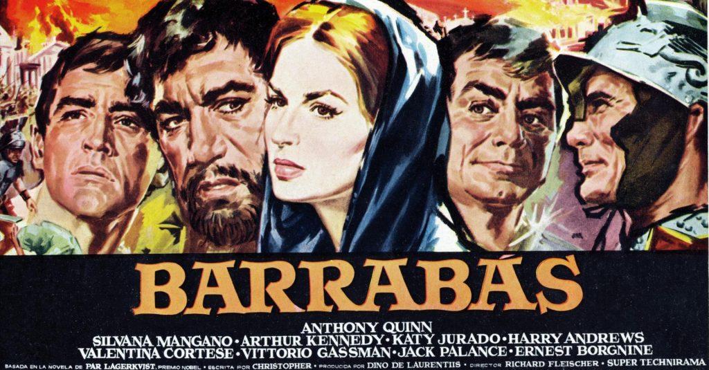 Affiche Barabbas
