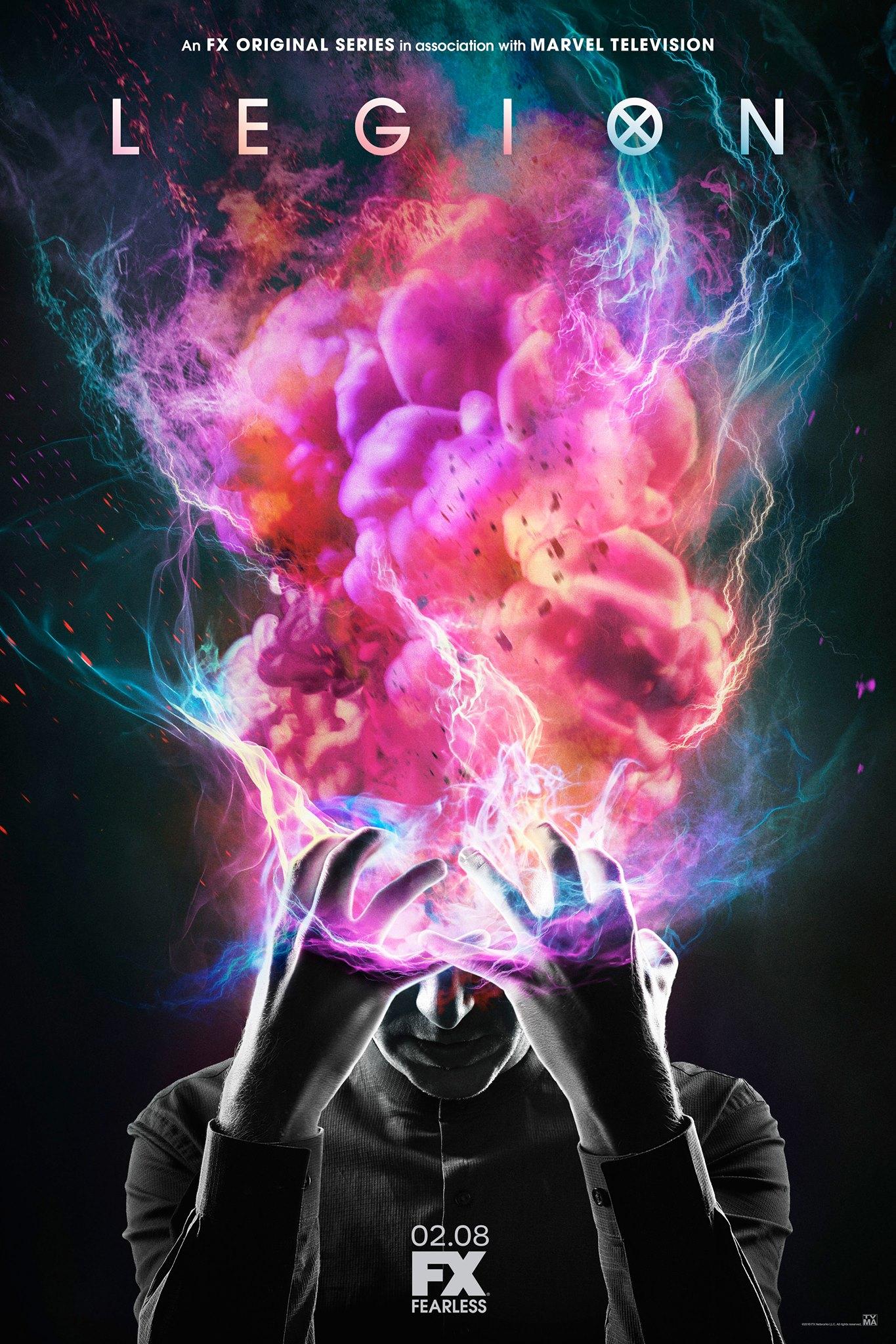 Legion nous offre une affiche bien psychédélique !