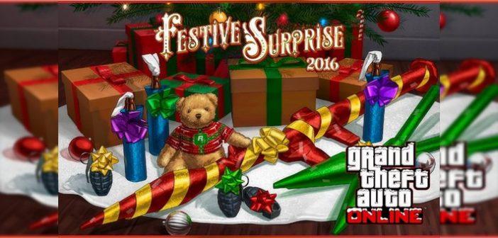 Voici la surprise de noël pour les joueurs de GTA V !