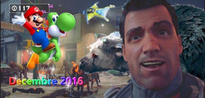 Jeux vidéo : quoi de beau pour décembre 2016 ?