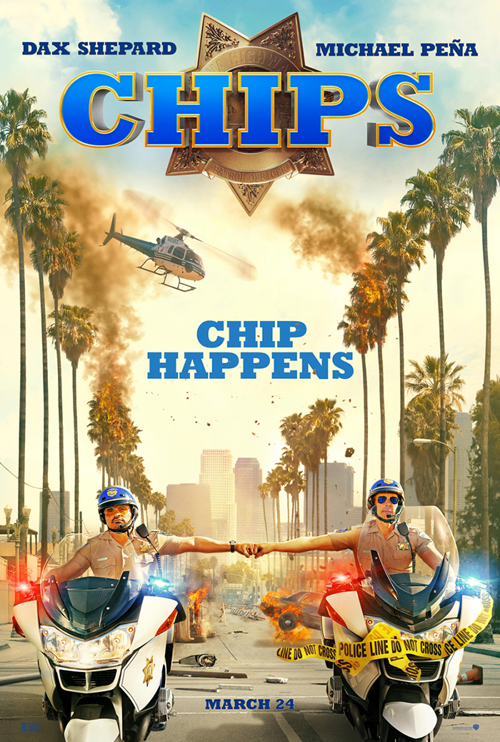 CHiPs : le trailer du remake du budy-movie policier avec Michael Pena !