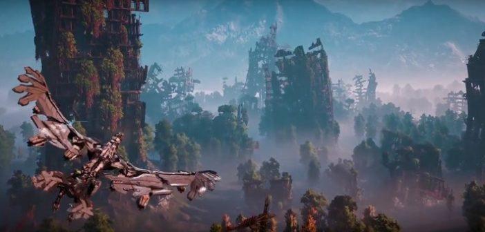 Horizon Zero Dawn dévoile son magnifique cinématic trailer