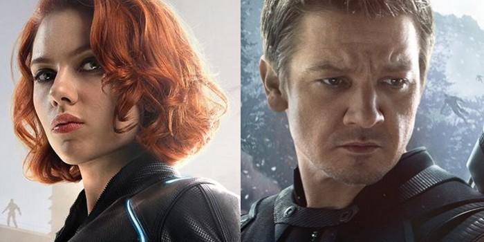 Jeremy Renner adorerait un film centré sur Black Widow/Hawkeye