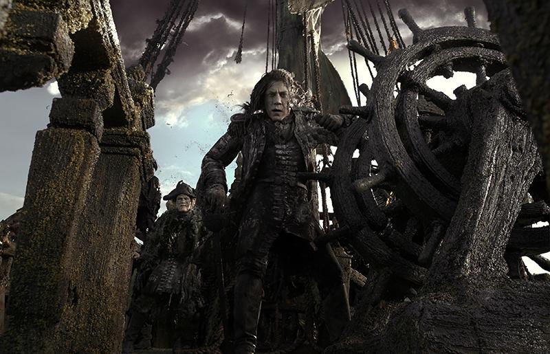 Pirates des Caraïbes 5 : le Capitaine Salazar se dévoile en image !