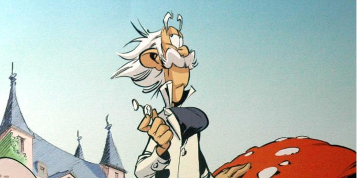 Spirou et Fantasio : le Comte de Champignac se dévoile en une image