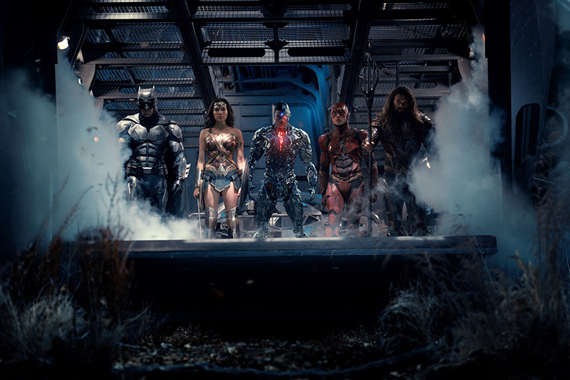 Une nouvelle photo de la Justice League, mais où est Superman ?