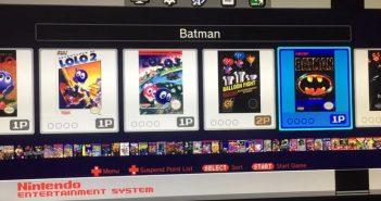 La Mini NES jusqu'à 90 jeux et un message caché dans la Mini Famicom ?