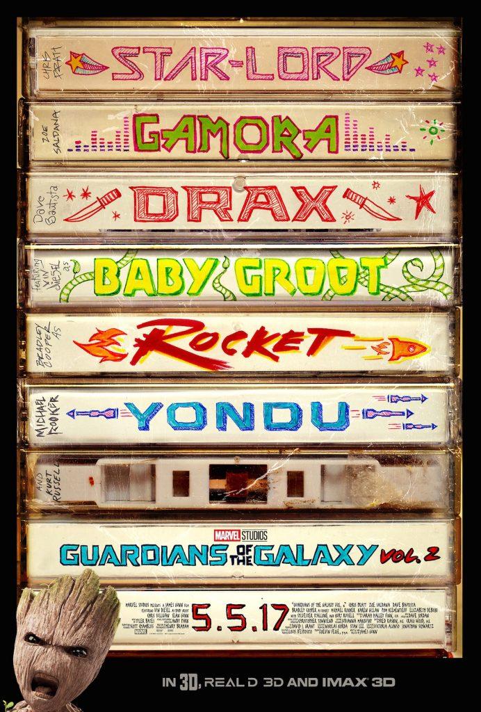 Les Gardiens de la Galaxie Vol.2 : un trailer explosif avec des nouveaux venus !