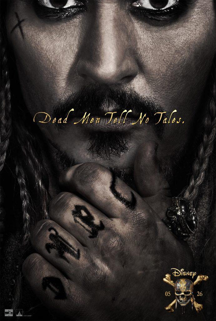 Affiche 2 Pirates des Caraïbes 5