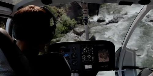 Cinquante nuances plus sombres crash hélicoptère