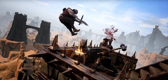 Après un MMORPG sympathique basé sur cette franchise, Funcom nous propose leur jeu de survie situé dans l'univers du célèbre Barbare, Conan Exiles.