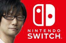 Hideo Kojima a essayé la Switch et raconte ce qu'il en pense !