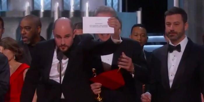 Oscars 2017 : le cafouillage du Meilleur film qui risque de coûter cher...