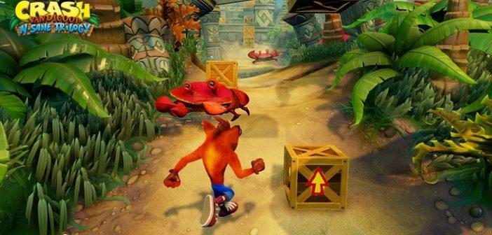 La trilogie Crash Bandicoot sera de retour à partir du...