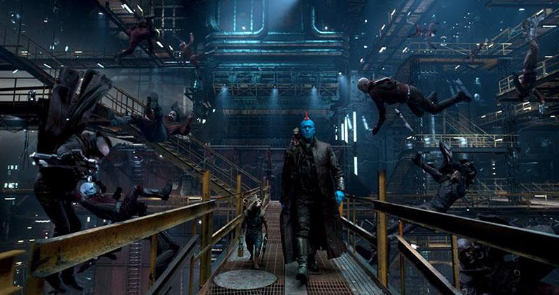 Les Gardiens de la Galaxie vol 2 : des nouvelles images diffusées !