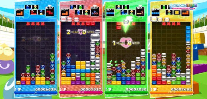 Sega Games revient sur le devant de la scène et nous annonce une date de sortie pour son futur titre Puzzle Game, Puyo Puyo Tetris !
