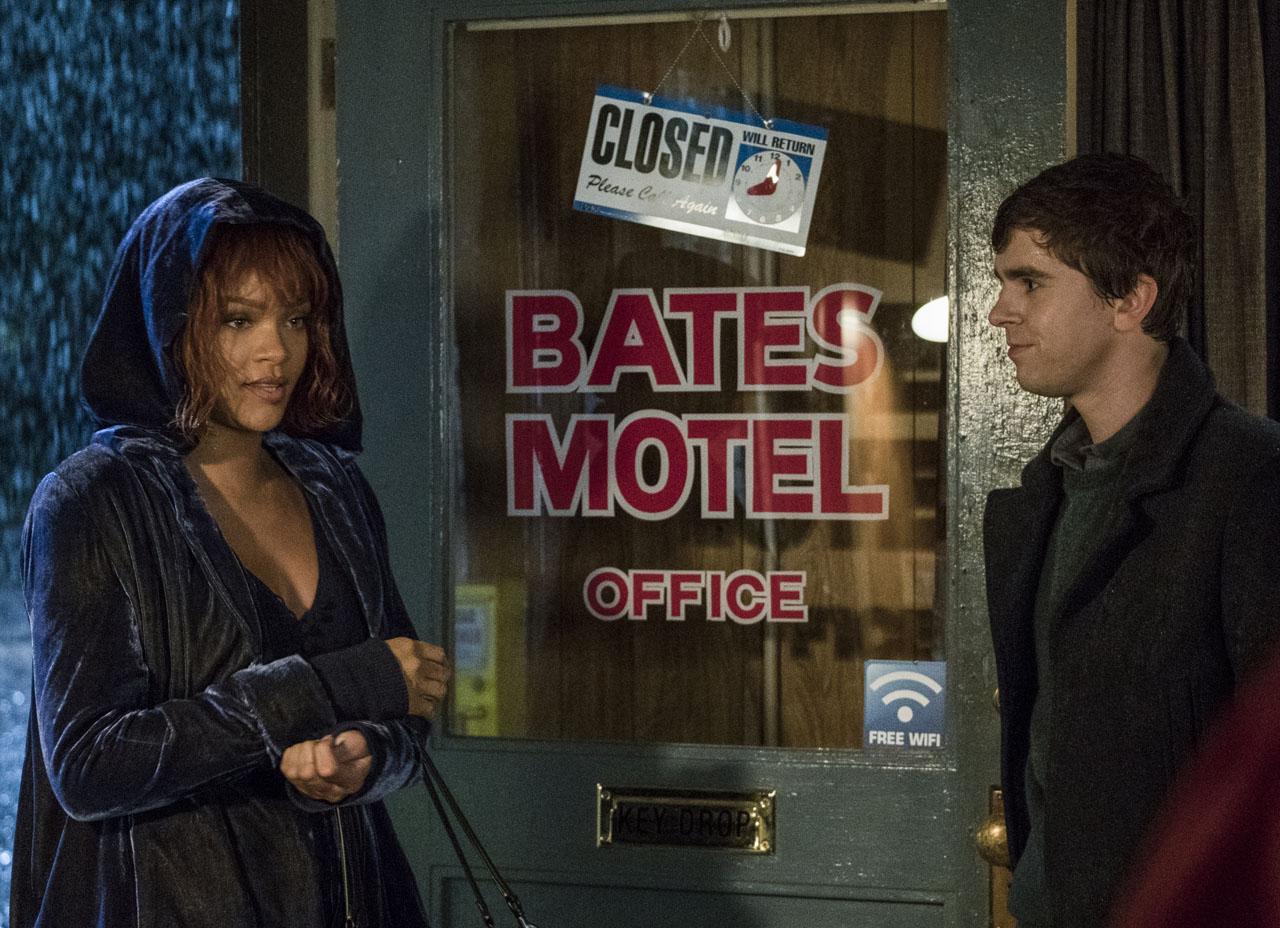 Rihanna apparaît en Marion Crane dans la saison 5 de Bates Motel