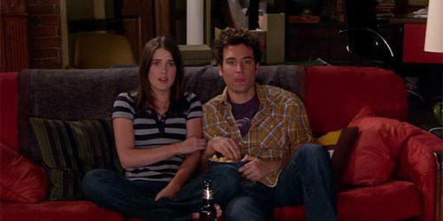 Ted et Robin How I met your mother